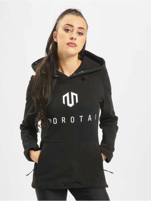 MOROTAI Bluzy z kapturem Naka Neo czarny