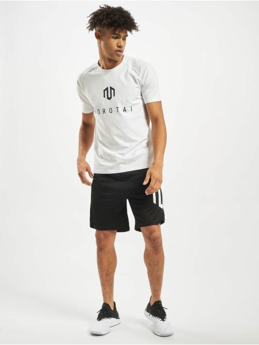 MOROTAI Camiseta Premium Brand Basic blanco