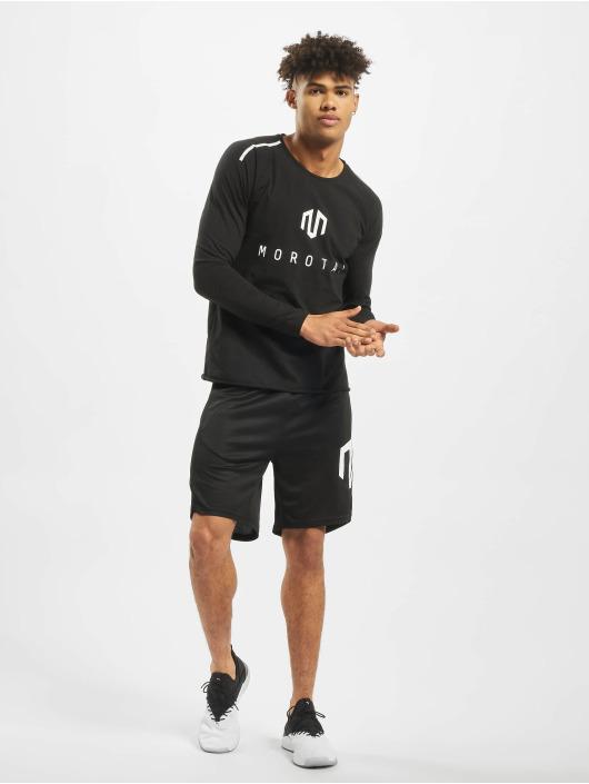 MOROTAI Camiseta de manga larga NKMR Jersey Bonded negro