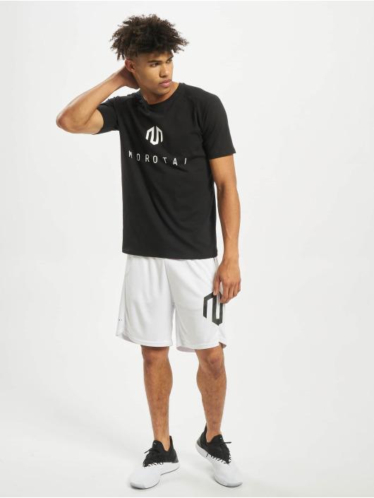 MOROTAI Camiseta Premium Brand Basic negro