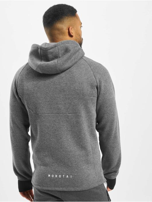 MOROTAI Hoodies con zip NKMR Neotech Full Zip grigio