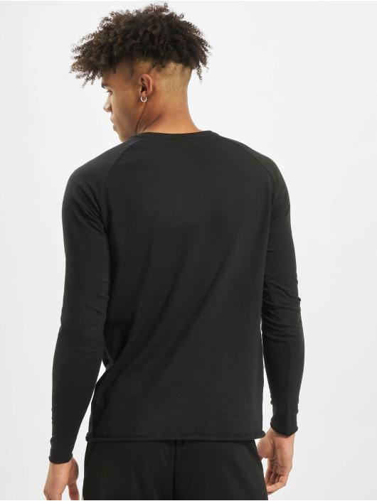 MOROTAI Longsleeve NKMR Jersey Bonded zwart