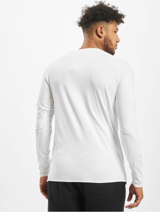 MOROTAI Maglietta a manica lunga NKMR Jersey Bonded bianco
