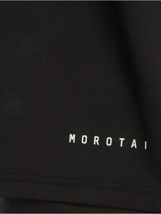 MOROTAI Shirts sportive Performance Basic nero