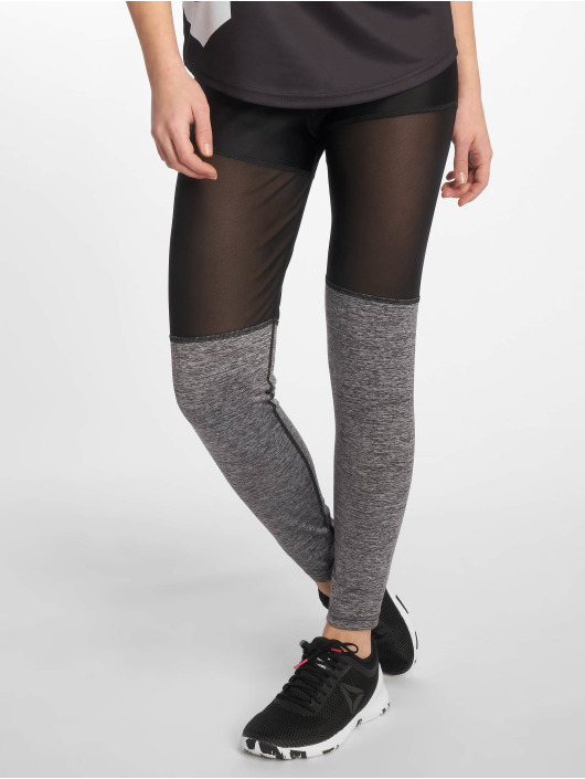 MOROTAI Sportleggings Mesh Bloc svart