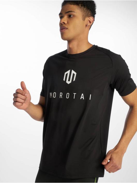 MOROTAI Sportshirts Performance Basic schwarz