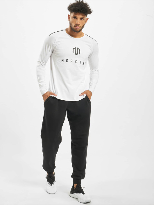 MOROTAI T-Shirt manches longues NKMR Jersey Bonded blanc