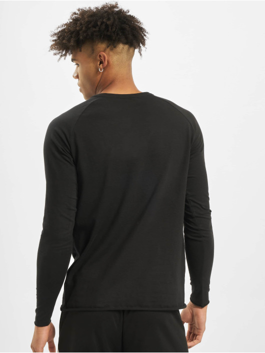 MOROTAI T-Shirt manches longues NKMR Jersey Bonded noir