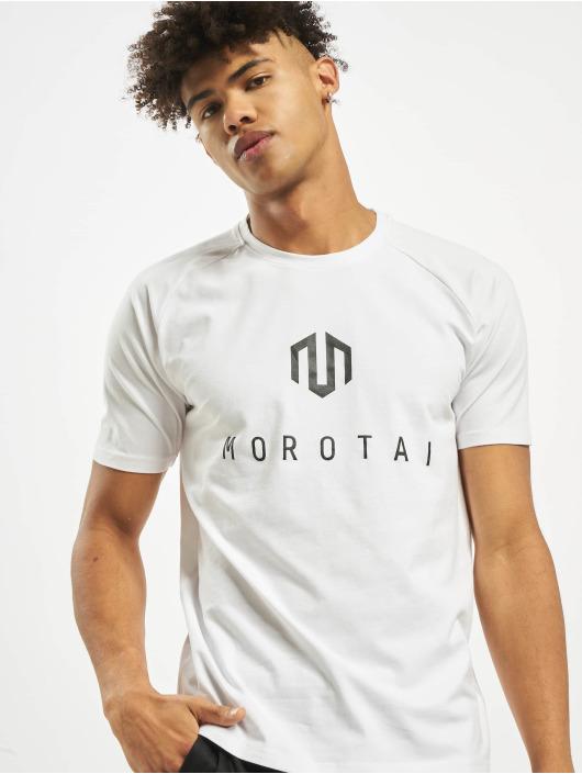MOROTAI T-Shirt Premium Brand Basic weiß