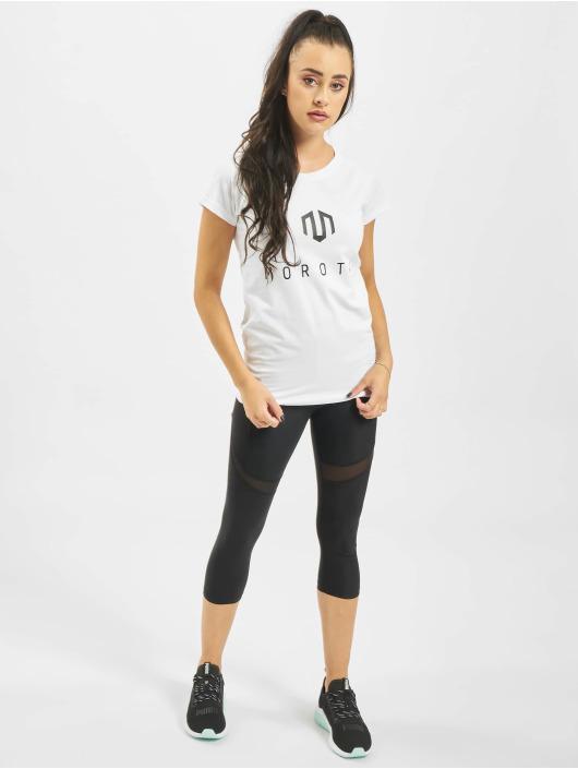 MOROTAI T-Shirt Naka Premium Basic Brand weiß