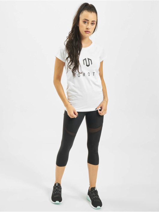 MOROTAI T-skjorter Naka Premium Basic Brand hvit