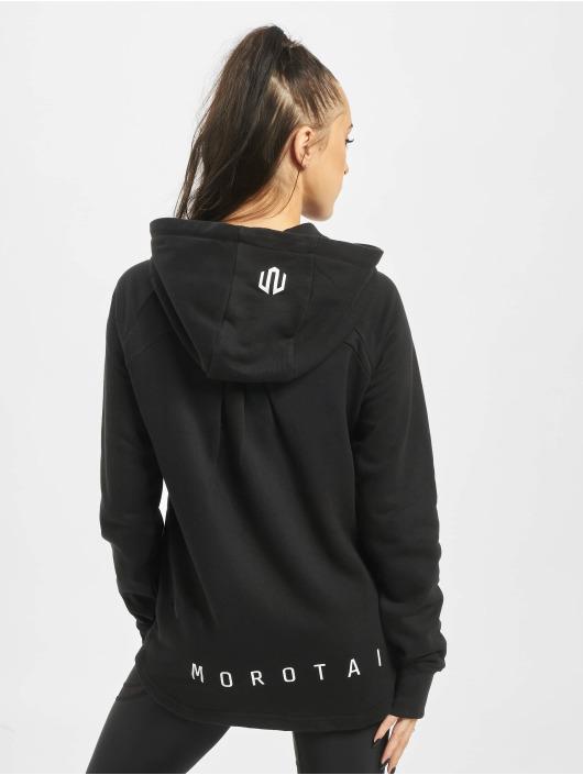 MOROTAI Zip Hoodie Comfy Performance czarny