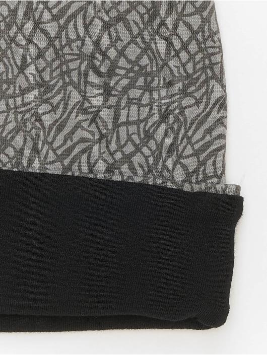 MSTRDS Čiapky Printed Jersey šedá