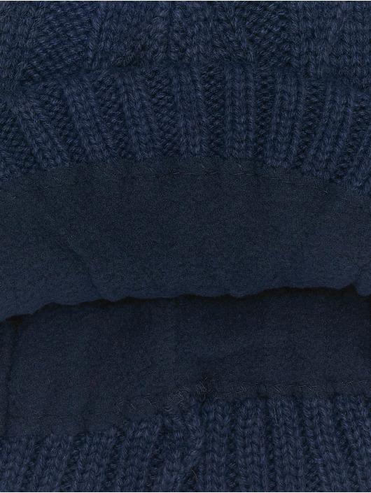MSTRDS Beanie Cable Flap blå