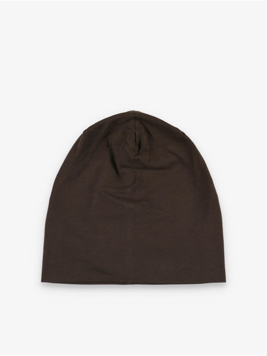 MSTRDS Beanie Jersey brown