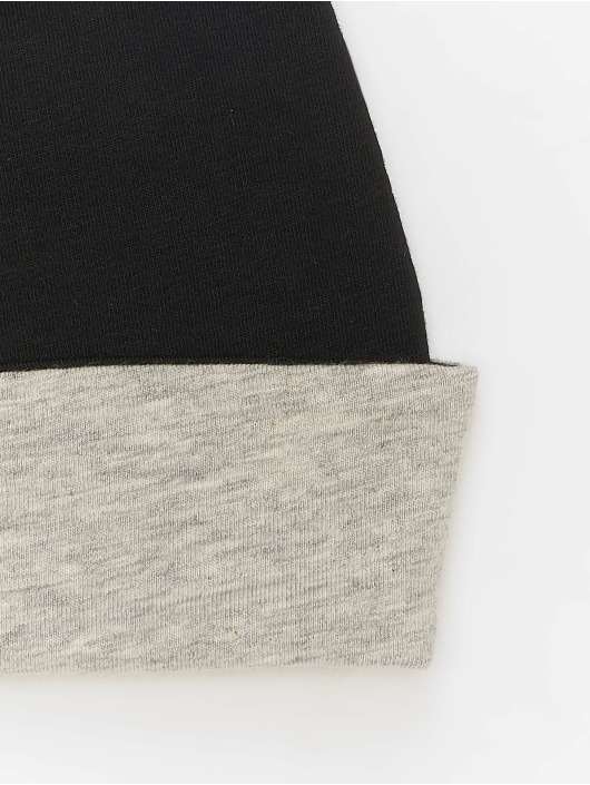 MSTRDS Beanie Jersey Reversible grey