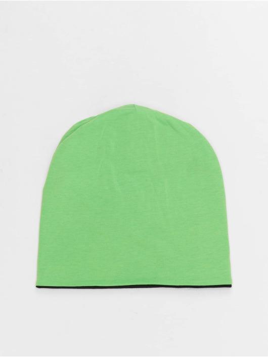 MSTRDS Beanie Jersey Reversible grün