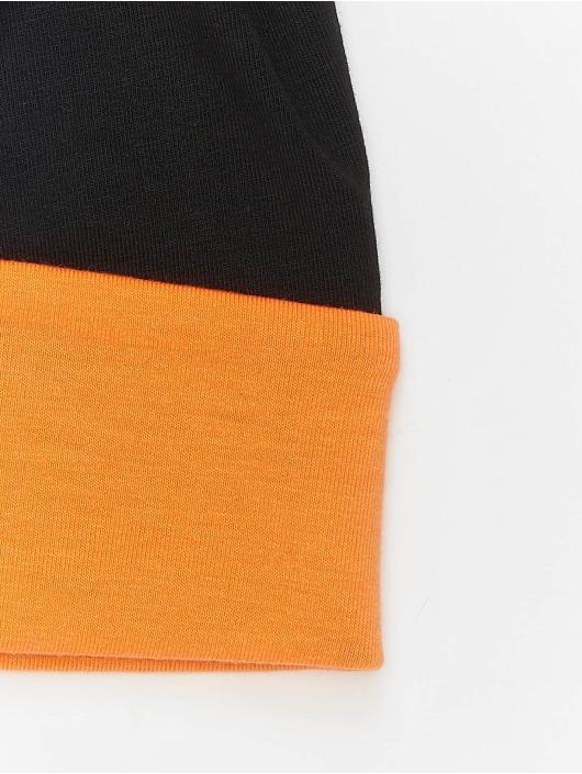 MSTRDS Beanie Jersey Reversible orange