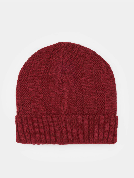MSTRDS Beanie Cable Flap red