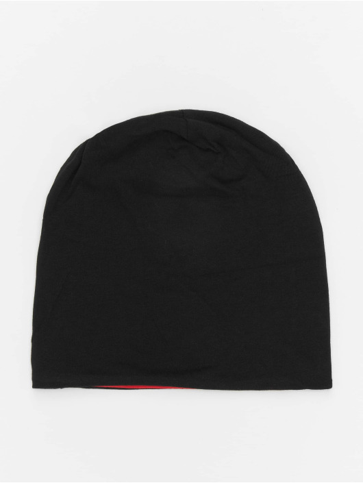 MSTRDS Beanie Jersey Reversible schwarz