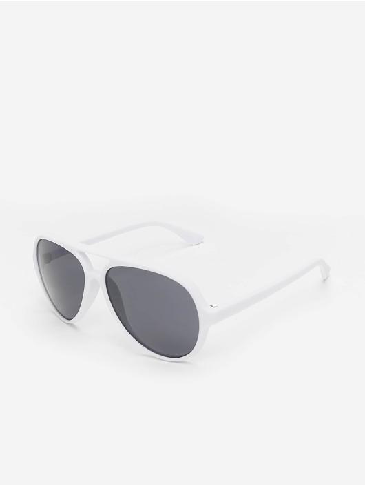 MSTRDS Lunettes de soleil Whalt blanc
