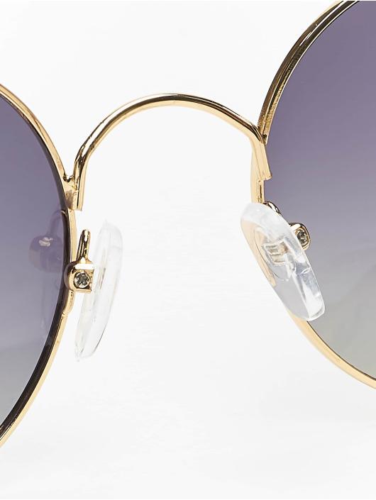 MSTRDS Okuliare Flower Mirror zlatá