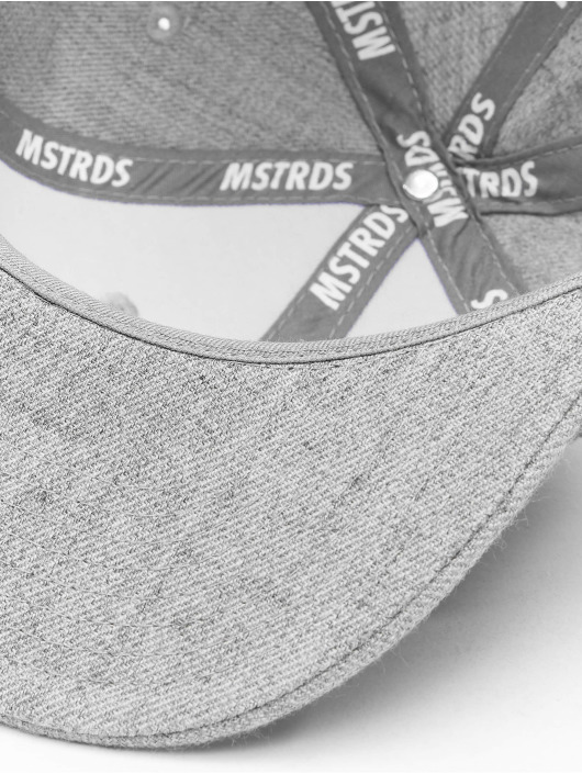 MSTRDS Snapback Caps Money Clip grå