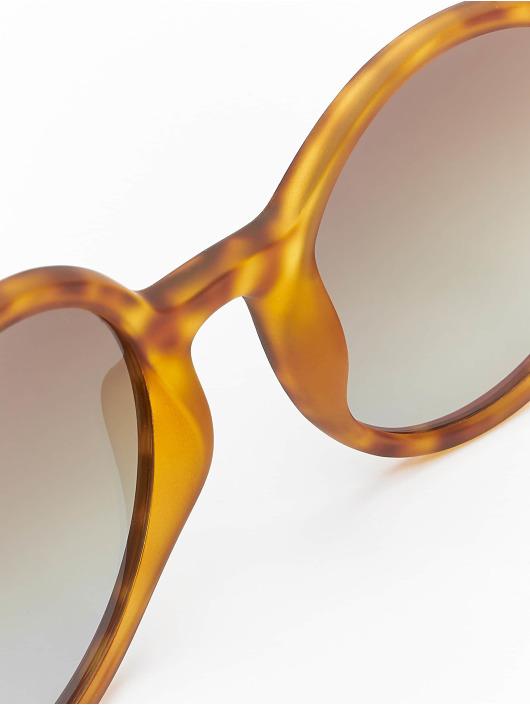 MSTRDS Sonnenbrille Retro Funk Polarized Mirror braun