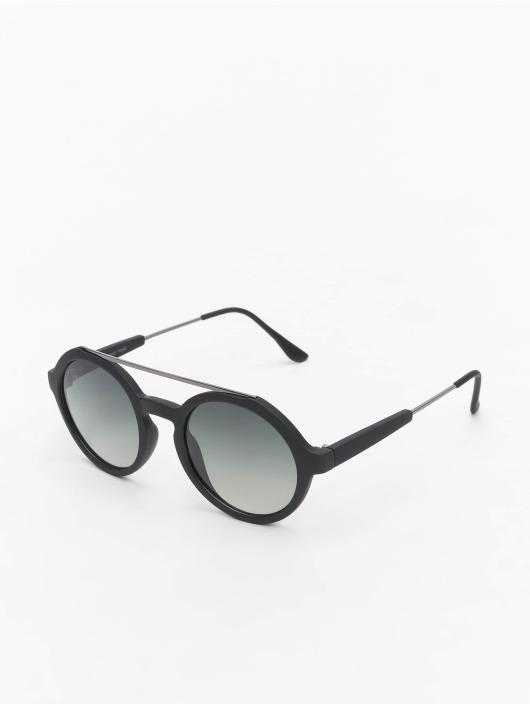 MSTRDS Sonnenbrille Retro Space Polarized Mirror schwarz