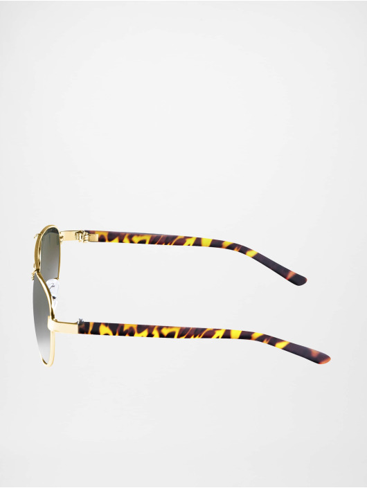 MSTRDS Sunglasses Mumbo gold colored