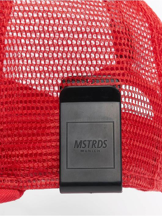 MSTRDS Trucker Cap Money Clip red