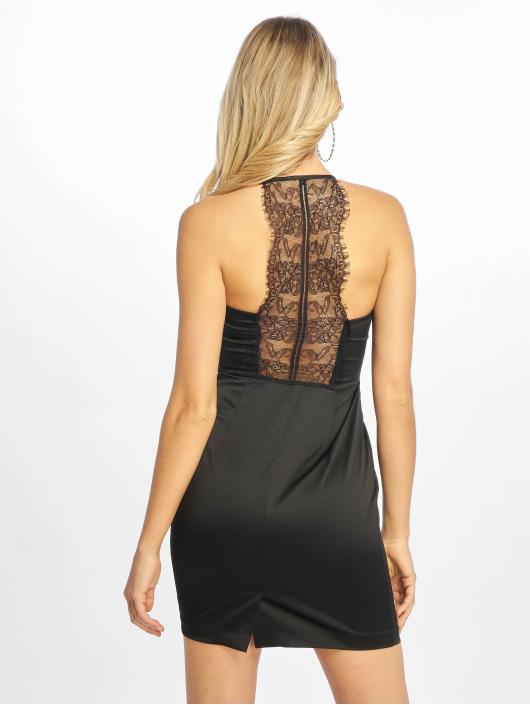 NA-KD Šaty Lace Back čern