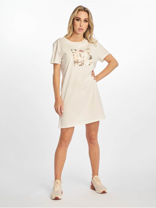 NA-KD Šaty Printed biela