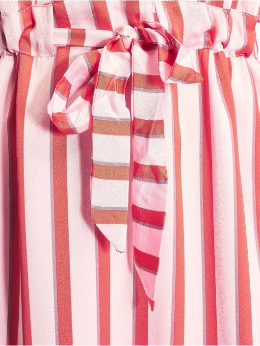 NA-KD Šaty Small Flower Wrap růžový