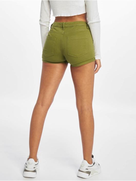 NA-KD Šortky 5 Pocket kaki