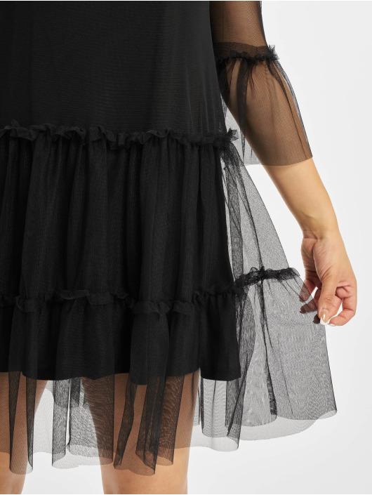 NA-KD Платья Ruffle Mesh черный