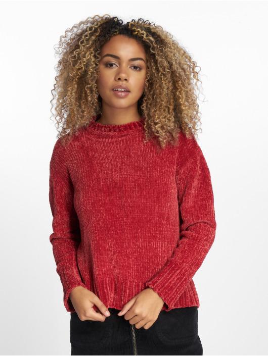 NA-KD Пуловер Chenille красный