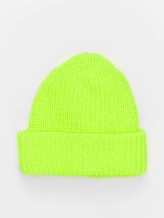NA-KD Beanie Neon amarillo