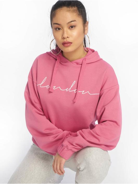 NA-KD Bluzy z kapturem London pink