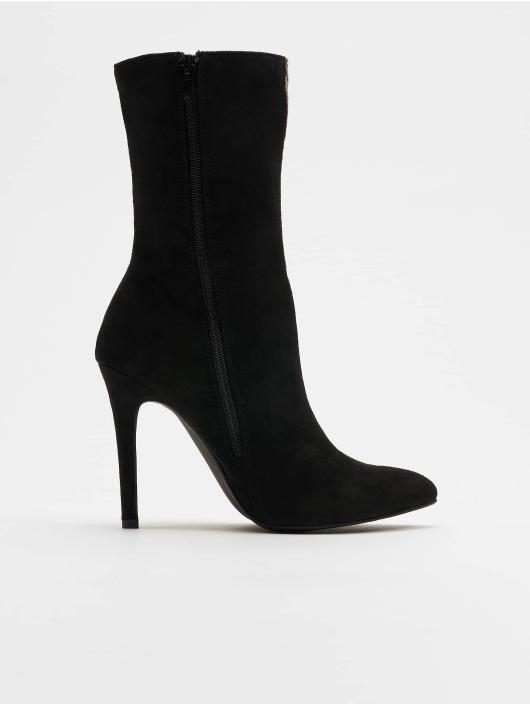 NA-KD Boots Two Colour Stiletto colored