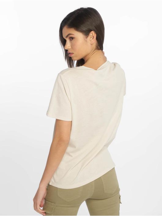 NA-KD Camiseta Flower Girl beis
