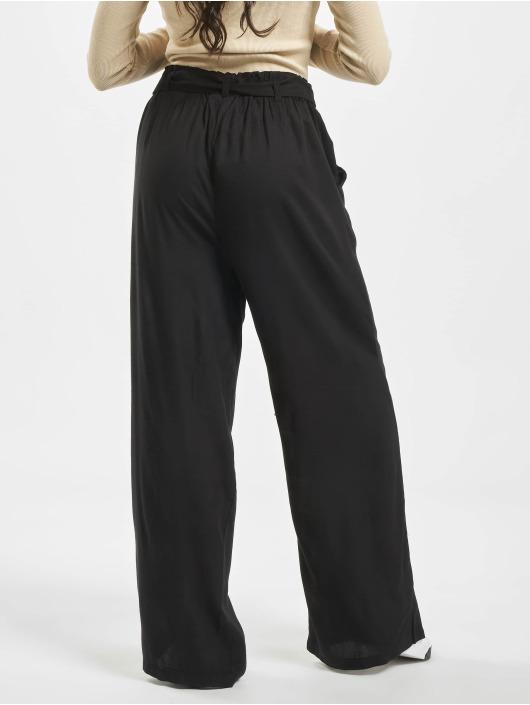 NA-KD Chino High Waist Front Knot black