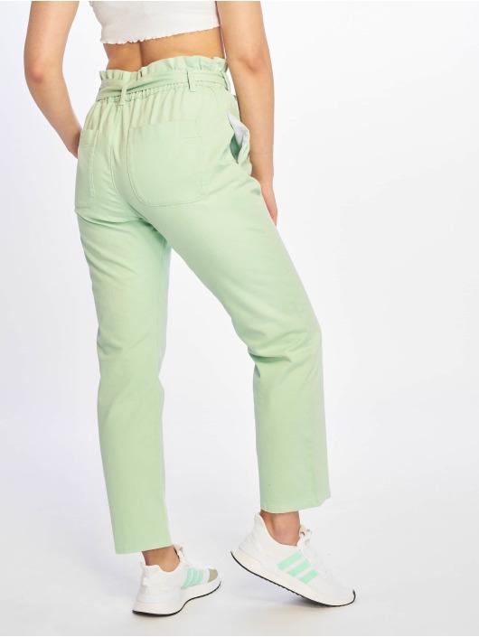 NA-KD Chinos Paper Bag grøn