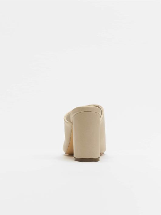NA-KD Claquettes & Sandales Block beige