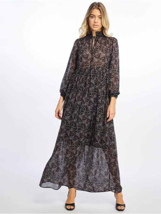NA-KD Dress Floral Printed black