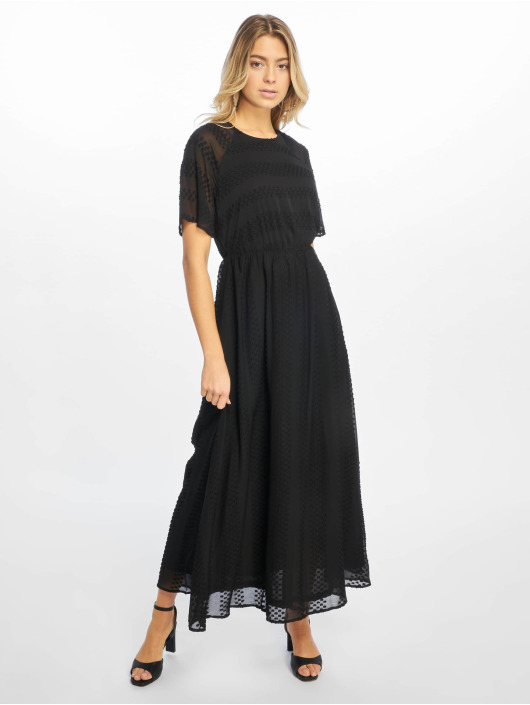 NA-KD Dress Dot Long black