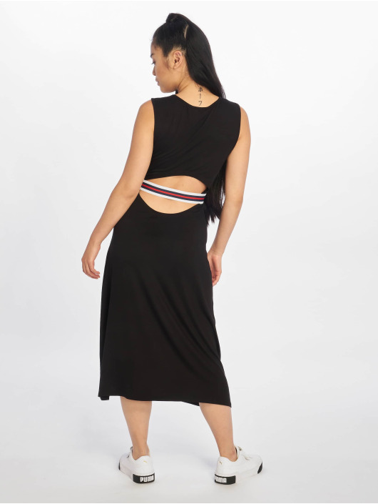 NA-KD Dress Open Back black