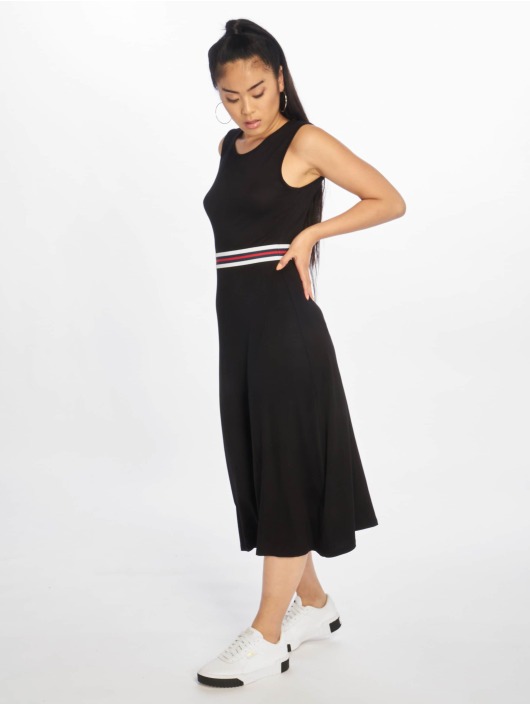NA-KD Dress Open Back black