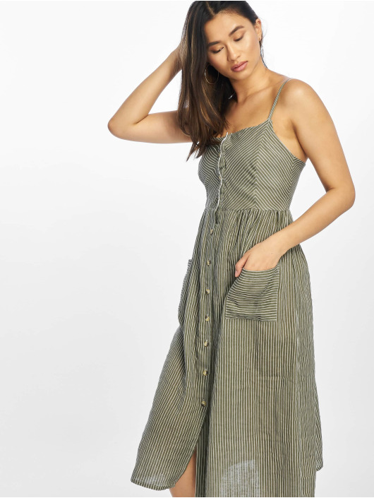 NA-KD Dress Stripe green