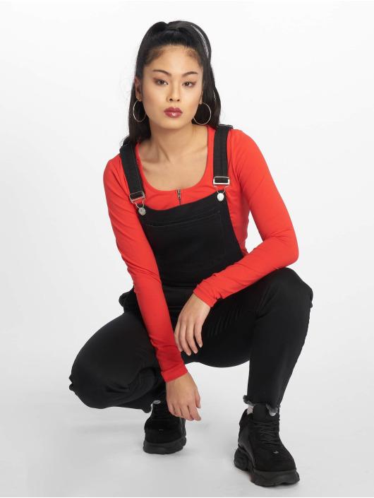 NA-KD Dungaree Mimi black